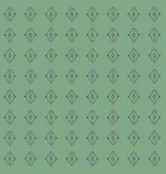 geometric laurel green and grey vector image