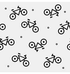 Geometric seamless simple monochrome minimalist vector image
