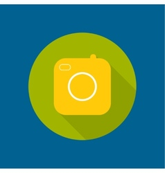 Icon old camera vector