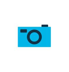 photo camera icon colored symbol premium quality vector image