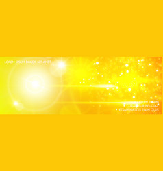 realistic glitter and light effects background vector image
