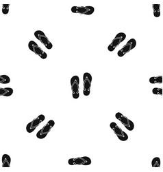 Slates pattern seamless black vector