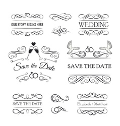 Vintage Ornaments - Collection of hand drawn vector