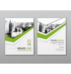 Brochure flyer design template leaflet cover vector