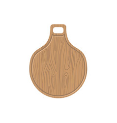 cutting board wooden kitchen plank kitchen vector image vector image