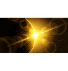 Planet eart vector image