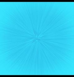 Speedline Zoom Effect Cartoon Blue vector image