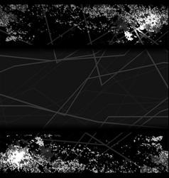 background dark grunge vector image