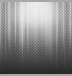 light beam rays light effect rays vector image