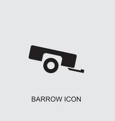 Barrow icon vector