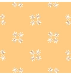 Buttercream colored simple geometric pattern with vector