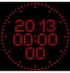 Digital watches vector image