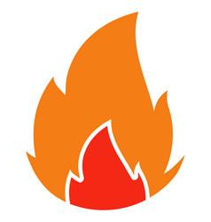 Fire - icon vector
