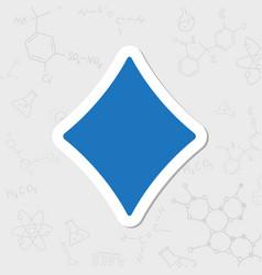 Game rhombus icon vector