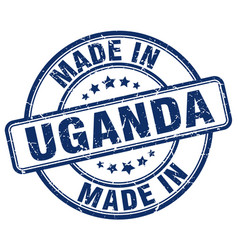 Made in uganda vector
