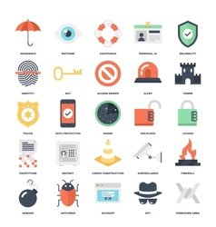 Security and Protection vector image