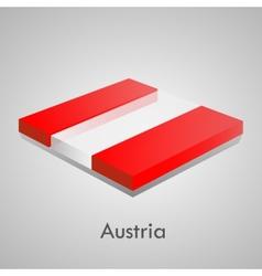 European flags set vector image
