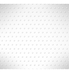 Pimpled seamless pattern Grey circles background vector image vector image