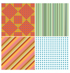 stripe collection vector image vector image