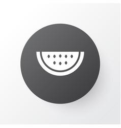 watermelon icon symbol premium quality isolated vector image