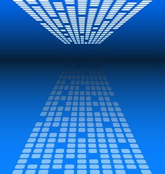 Abstract blue background for technology concept vector image