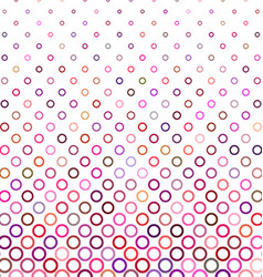 Colorful abstract circle pattern background design vector