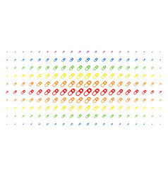 Love granule spectrum halftone matrix vector
