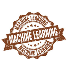 Machine learning stamp sign seal vector