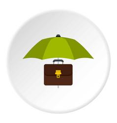 money box icon circle vector image