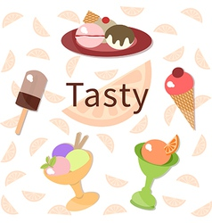 Tasty vector image