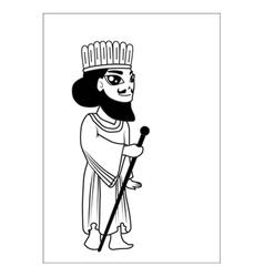 Man cartoon vector image