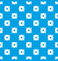 audio speaker pattern seamless blue vector image