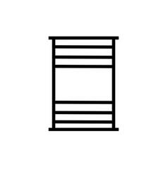 barrel icon vector image