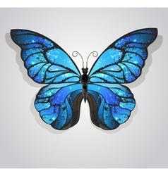 Blue Butterfly Morpho vector