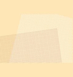 Light brown digital pop art retro background vector