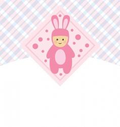 little baby's vector image
