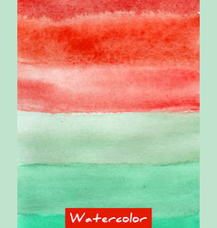 Multicolor striped watercolor hand drawn vector
