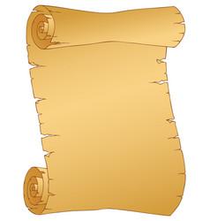 Vintage parchment image 1 vector