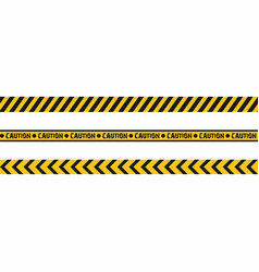 Warning tapes seamless hazard stripes texture vector