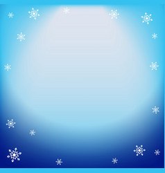winter blue light effect projector ray vector image