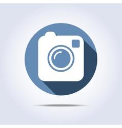 Camera simple icon vector image