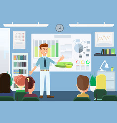 Business training concept vector
