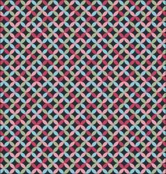 dark geometric pattern vector image