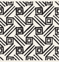 Freehand seamless pattern modern stylish abstract vector