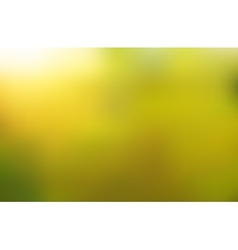 Green blurred abstract background vector