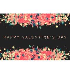 Happy valentin day vector
