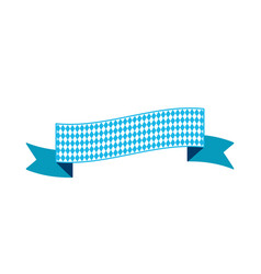 oktoberfest simple ribbon for banner and headline vector image