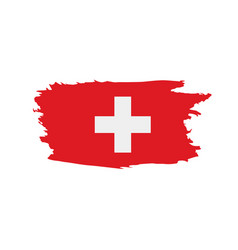 Switzerland flag vector