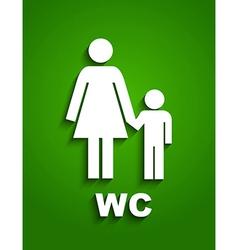 Toilet symbols vector