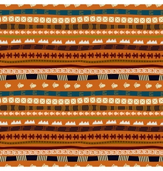 Ethnic abstract pattern with African motives vector image